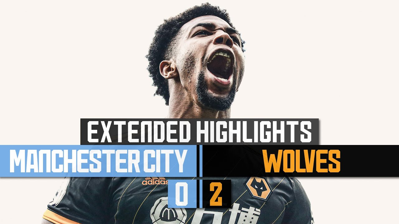 Traore double defeats the Premier League champions! Manchester City 0-2 Wolves | Extended Highlights