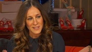 Does SJP Let Her 4-year-old Twins Try on Her Designer Shoes?