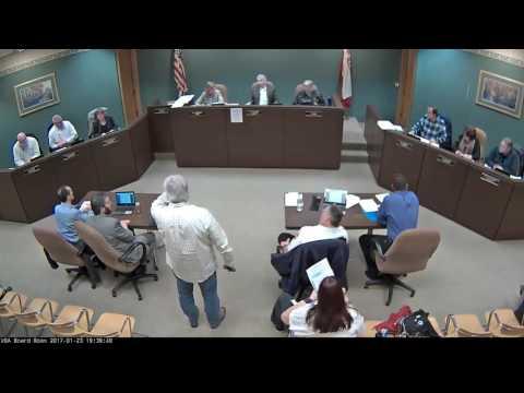 2017 01 23 Board Meeting VIDEO