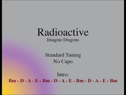 Radioactive - Easy Guitar (Chords and Lyrics)
