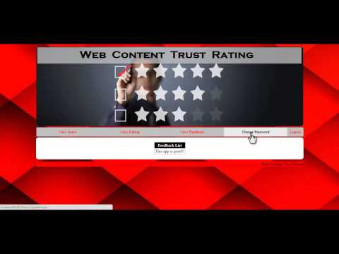 Web Content Trust Rating Prediction Using Evidence Theory