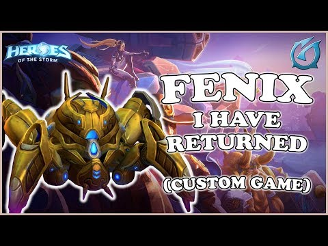 Grubby | Heroes of the Storm - Fenix - I Have Returned! - Custom Game - Volskaya Foundry