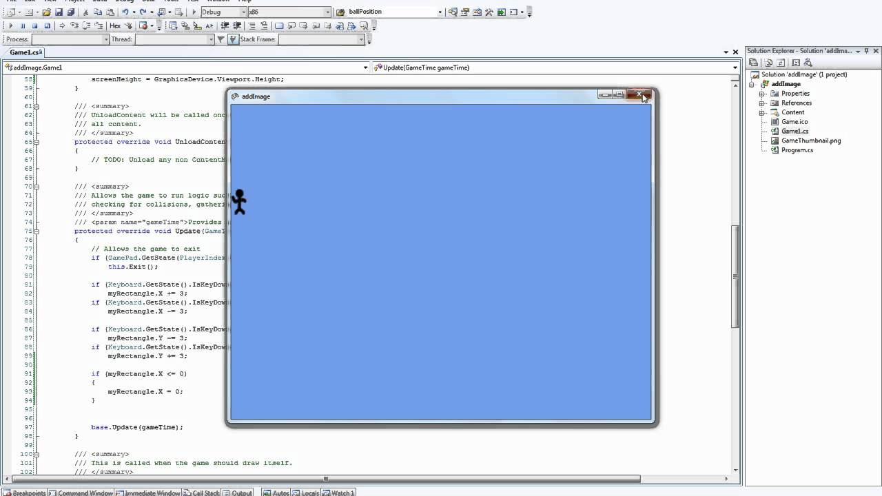 XNA Tutorial 3 - Screen Parameters