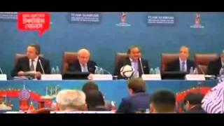 এবার ফিফার দূর্নীতি। সেফ ব্লাটার ৯০দিনের জন্য বহিষ্কার।(Sepp Blatter suspended for 90 days.)