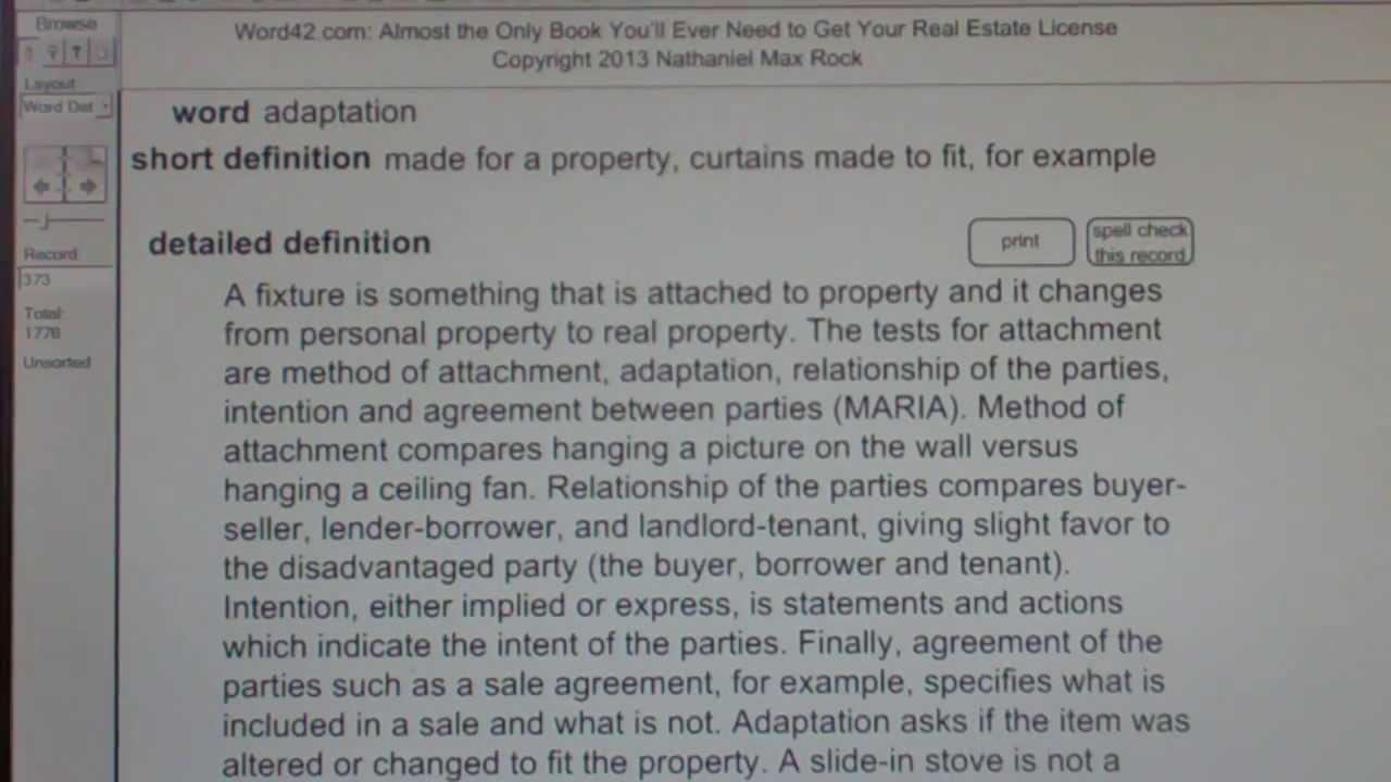 adaptation ca real estate license exam top pass words vocabubee com