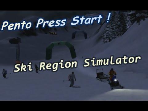 Pento Press Start : Ski Region Simulator