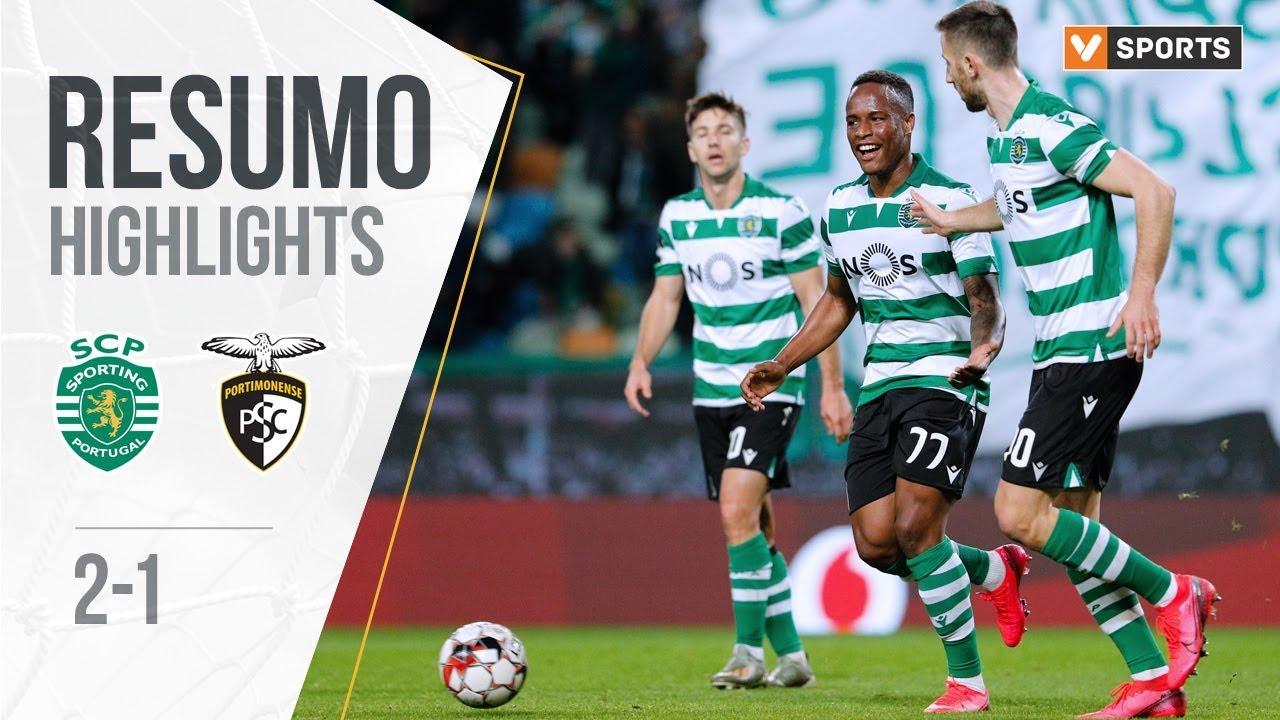 Спортинг Лиссабон  2-1  Портимоненси видео