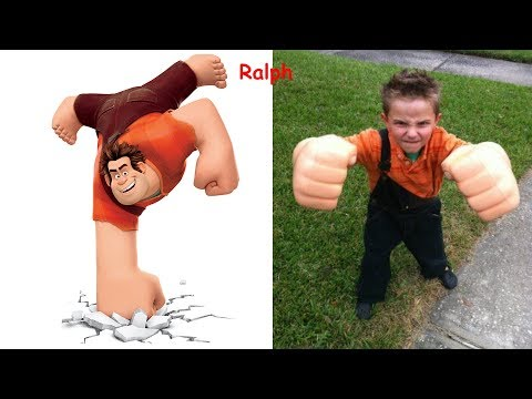 Wreck It Ralph in Real Life !