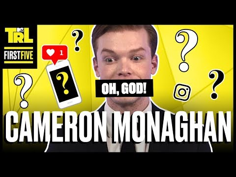 Cameron Monaghan Reveals His Very Unexpected Fashion Icon | First Five | TRL