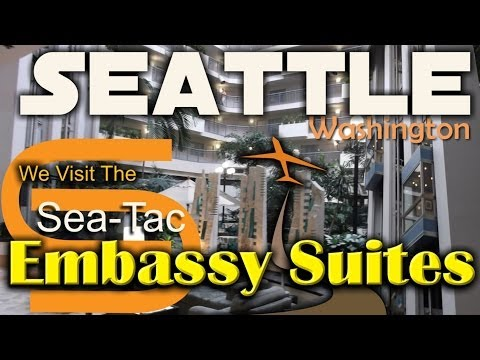 Sea Tac Hotels Embassy Suites Seattle Airport - Where To Stay Near Sea Tac Airport Seattle