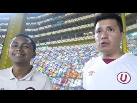 """Futwanderers en el Estadio Monumental """"U"""" (Universitario de Deportes de Lima, Peru)"""