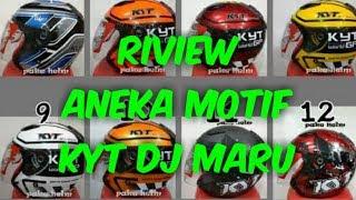 Riview aneka motif KYT DJ MARU 2019