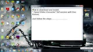 Tipard video converter full version with free license install