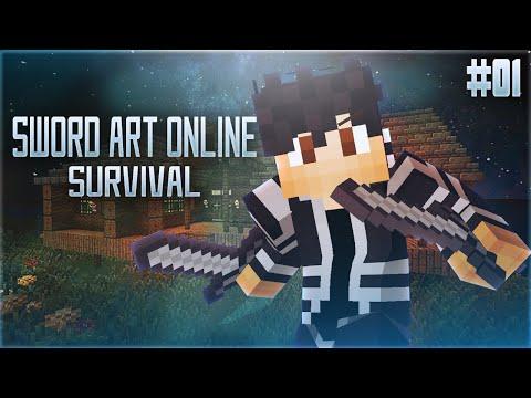 Link Start! | Minecraft Sword Art Online Survival #1