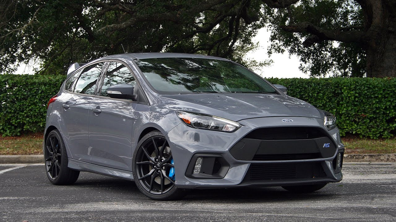 2017 ford focus rs driven