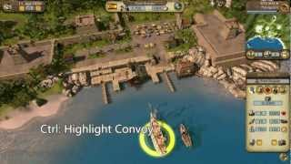 Port Royale 3: Pirates and Merchants - Walkthrough Video 1 [HD]