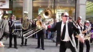 �������� ���� Russian flash mob in Hamburg - Русский Флешмоб в Гамбурге ������