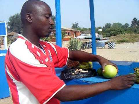 Juicebar in Kololi, The Gambia
