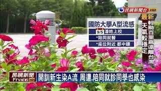 國防大學爆發A流群聚感染 停課3天-民視新聞