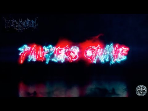 Begat The Nephilim - Paupers Grave (Official Lyric Video) Blackened Death Metal | Noble Demon