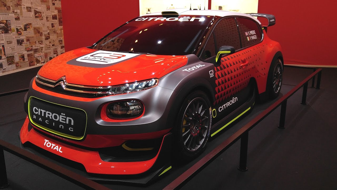 citroen c3 wrc 2017 on paris motor show 2016 1001cars youtube. Black Bedroom Furniture Sets. Home Design Ideas