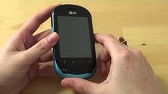LG C550 Optimus Chat Test Erster Eindruck