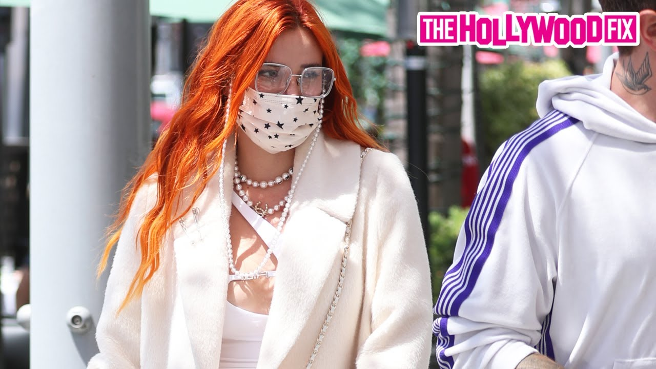Bella Thorne Speaks On Tana Mongeau's Obsession Over Her While Leaving Lunch With Benjamin Mascolo