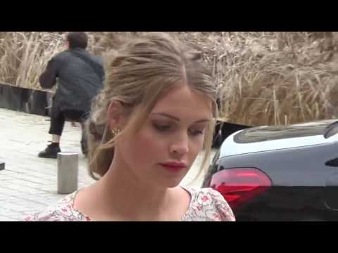 Lady KITTY SPENCER @ Paris 4 july 2016 Fashion Week show Schiaparelli