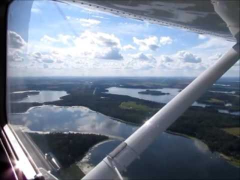 Plane Ride Over Nevis, Minnesota 5-7 Crow Wing, Belle Taine