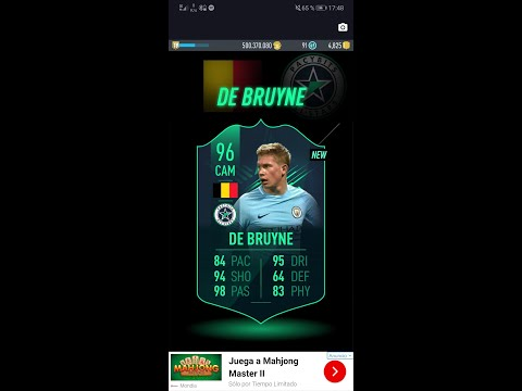 *NEW DE BRUYNE ALL STAR SBC* PACYBITS FUT IT 19