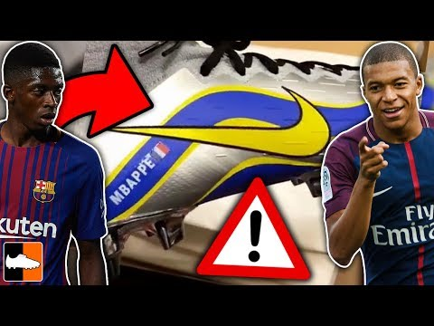 Mbappé & Dembele LEAK ⚠ New Limited Edition Nike Boots!