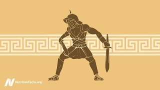 Strava gladiátorů – jak si vedou vegetariánští sportovci