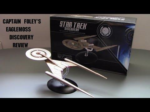Eaglemoss Discovery - A Captain Foley review