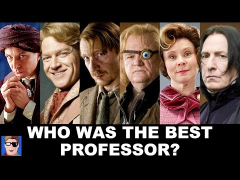 Who Was Harry S Best Defense Against The Dark Arts Professor