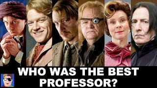 Who Was Harry's Best Defense Against The Dark Arts Professor?