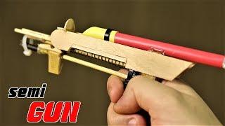 Video How To Make A Semi Automatic Gun That Shoots 5 Paper Bullets download MP3, 3GP, MP4, WEBM, AVI, FLV November 2017