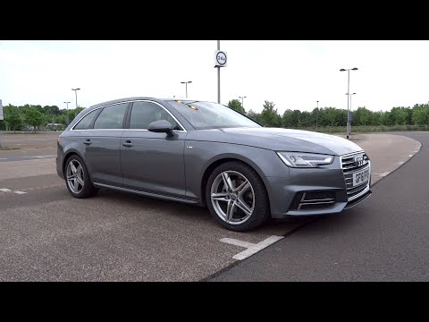 2016 Audi A4 Avant 2.0 TDI 150 S line Start-Up and Full Vehicle Tour