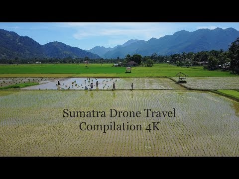 Sumatra Drone Travel Compilation 4K