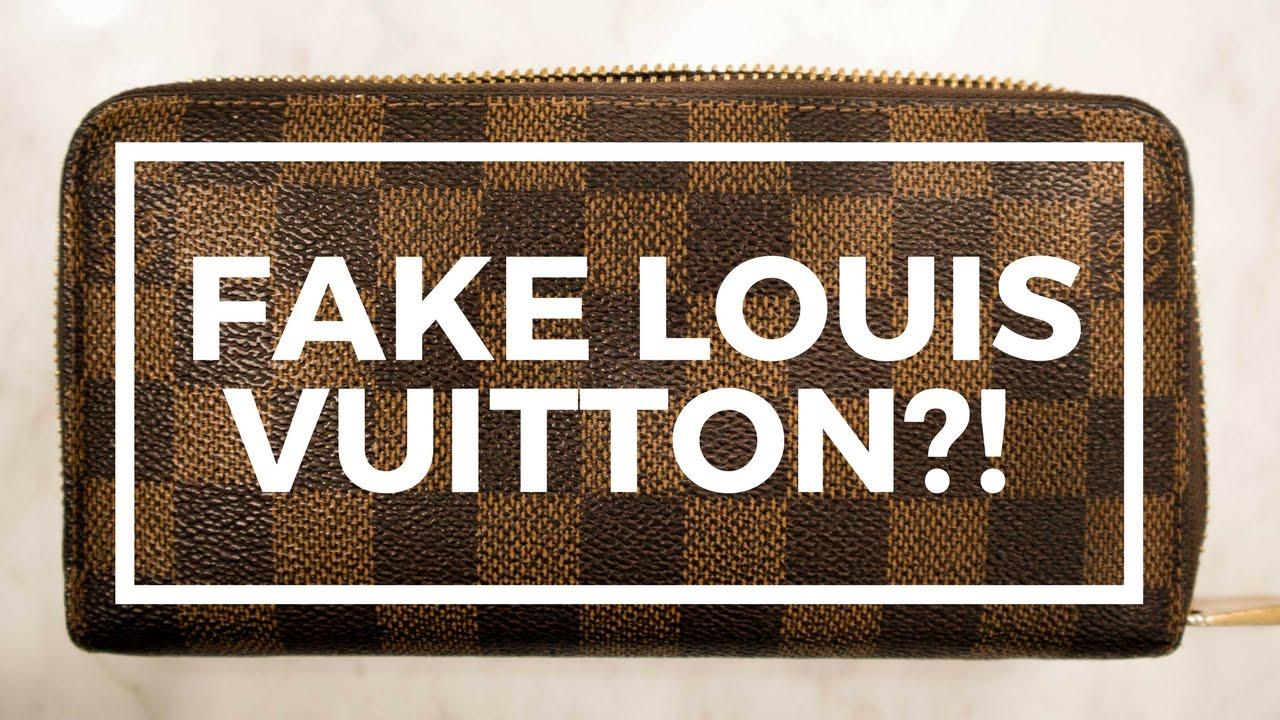 b472588498263 FAKE Louis Vuitton Zippy Wallet ! !