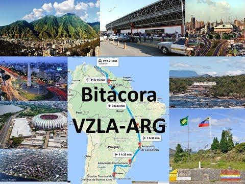 Mi viaje por tierra de Venezuela a Argentina