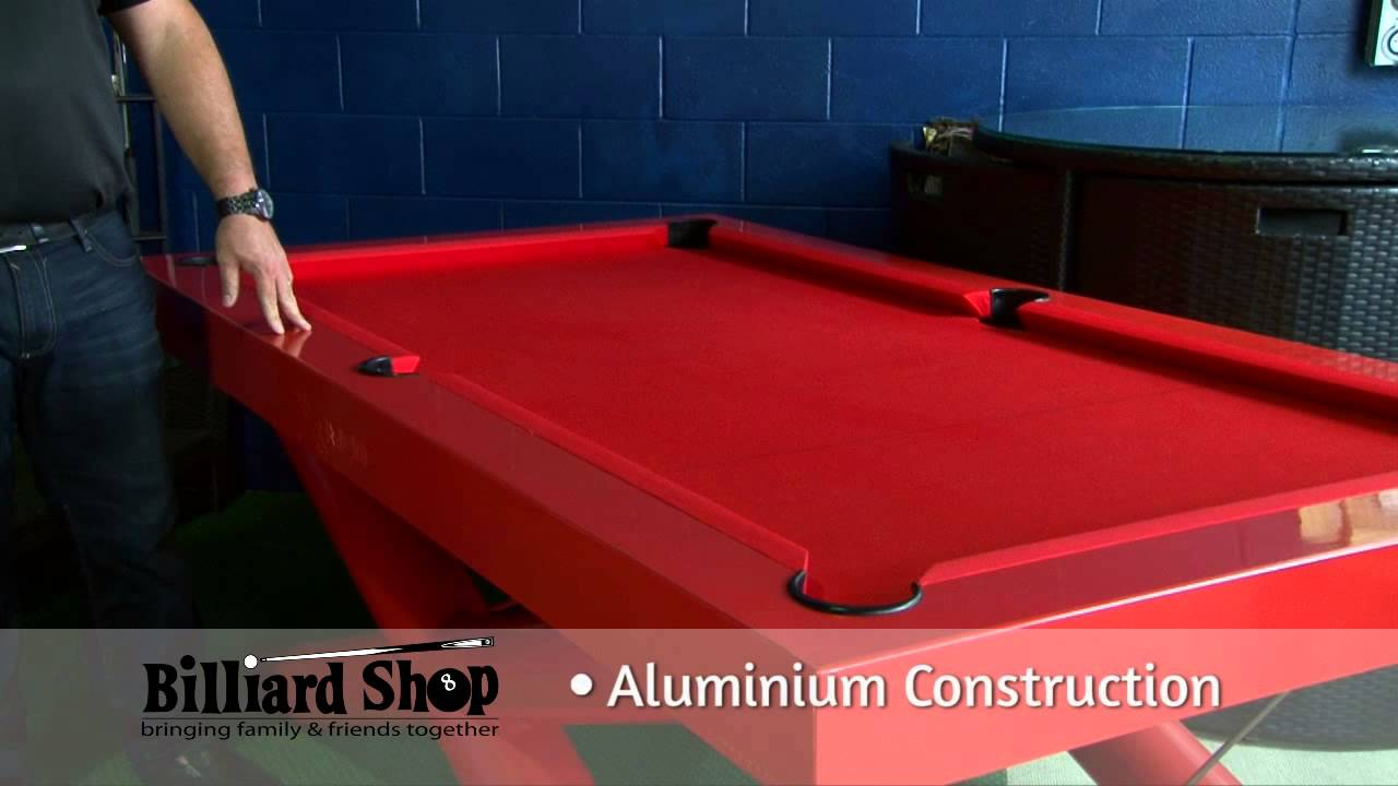 OutDoor Pool Tables   YouTube