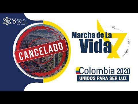 Marcha de la vida 2020 Colombia se CANCELA
