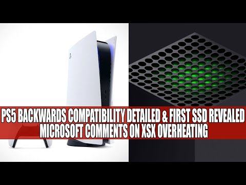PS5 Backwards Compatibility Detailed & First SSD Revealed | Microsoft Comments On XSX Overheating