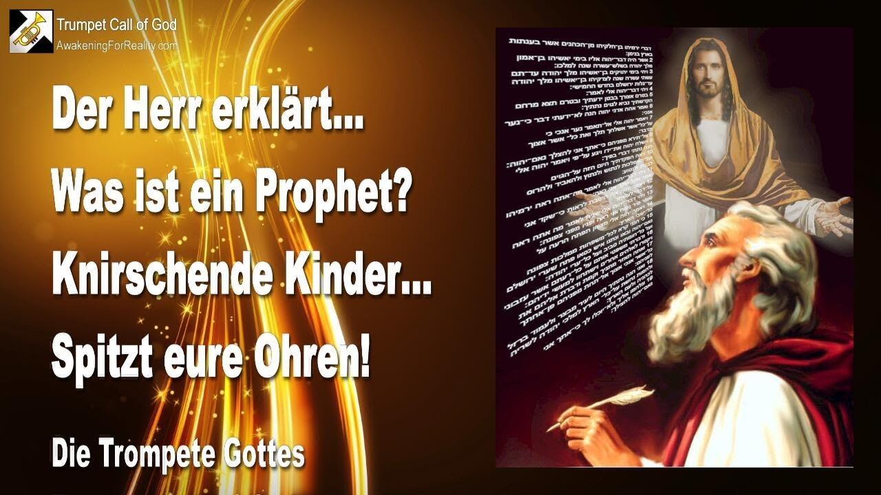 Was Ist Ein Prophet