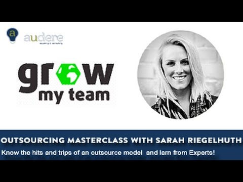 Outsourcing Masterclass with Sarah Riegelhuth