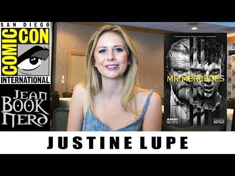 Justine Lupe  MR. MERCEDES  San Diego Comic Con 2018  JeanBookNerd
