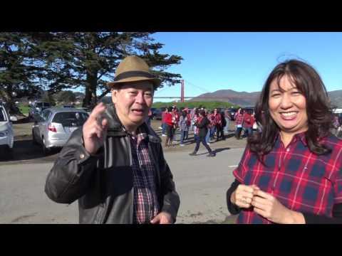Komentar dari Ketua San Francisco  Hip Hip Hura Flash Mob Ahok Djarot