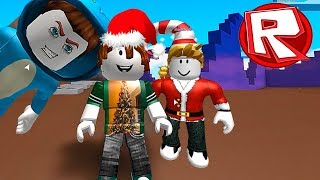 👉 WE PUT CHRISTMAS TRAJES IN ROBLOX 😍 BEBE VITA, MILO, ADRI SANTA ROBLOX ROLEPLAY FUN