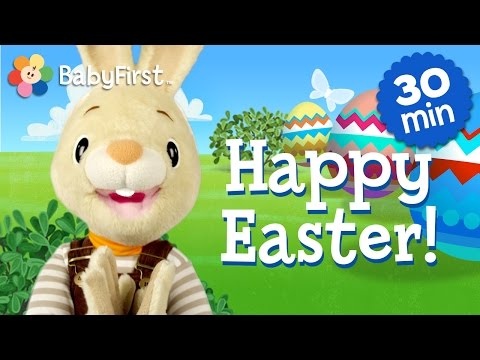 Happy Easter! Harry The Bunny | Half Hour Compilation Of Children Shows | BabyFirst