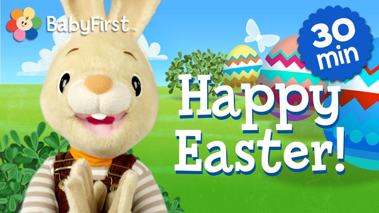 Happy easter harry the bunny half hour compilation of children happy easter harry the bunny half hour compilation of children shows babyfirst youtube negle